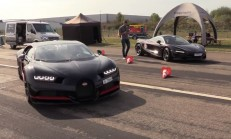 Hangisi Geçer? Mclaren 720s – Bugatti Chiron