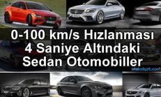 0-100 km/s Hızlanması 4 Saniye Altında Olan En Özel 10 Sedan Otomobil