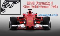 2018 Formula 1 Abu Dabi Grand Prix Hangi Gün Saat Kaçta