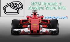 2018 Formula 1 Brezilya Grand Prix Hangi Gün Saat Kaçta
