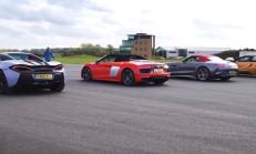 Hangisi Geçer? AMG GT C – Audi R8 – McLaren 570S – BMW i8