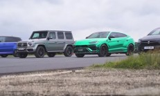 Hangisi Geçer? Lamborghini Urus – Tesla Model X – Mercedes-AMG G63 – Range Rover Sport SVR