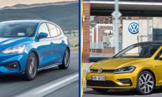 Yeni Kasa Ford Focus (MK4) – VW Golf 7.5 Karşılaştırması