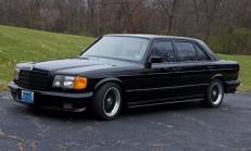 Brabus Yapımı 1985 Model Mercedes 1000 SEL 9 Bin Dolar'a Satıldı