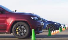 Hangisi Geçer? Jeep Trackhawk – Tesla Model X – Mercedes-AMG GLC 63