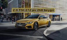 Volkswagen Arteon İçin Yeni Turbo Benzinli Motor Tanıtıldı (268 Beygir)