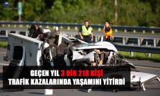 2018 Yılı Trafik Kazası Ölüm Bilançosu Açıklandı