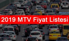 2019 Otomobil MTV Fiyatları Açıklandı