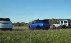 2019 SUV Savaşı: Mercedes-AMG G63 – Porsche Cayenne Turbo – Range Rover SVR