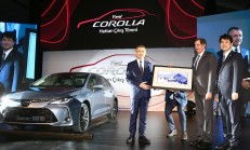 Yeni Kasa Toyota Corolla Sedan, Sakarya'daki Banttan İndi