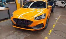 2019 Yeni Kasa Ford Focus ST Kamuflajsız Yakalandı