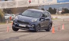 2019 Yeni Kia Sportage Geyik Testi Yayınlandı