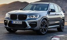 510 PS'lik 2020 Yeni BMW X3 M Competition Özellikleri ile Tanıtıldı