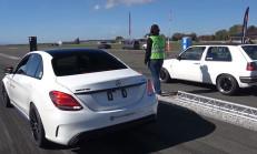 Hangisi Geçer? Mercedes-AMG C63S AMG TTE780 – VW Golf 2