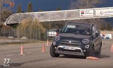 2019 Fiat 500X Geyik Testi Yayınlandı