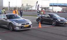 Devler Yarışıyor: Ferrari F12, Huracan, Nissan GT-R, Porsche 911 Turbo