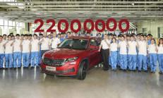 Skoda 22 Milyonuncu Arabasını Üretti