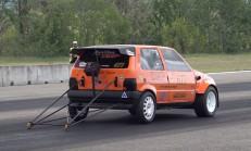 600 Beygirlik Drag Canavarı Fiat Uno