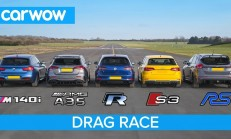 Hangisi Geçer? AMG A35 – BMW M140i – Golf R – Audi S3 – Focus RS