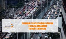 En Yoğun Trafiğe Sahip İkinci Şehir İstanbul Oldu