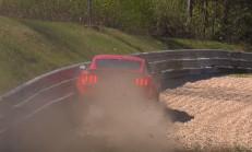 Ford Mustang Shelby GT350, Nürburgring'te Patladı