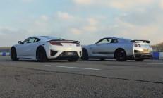 Hangisi Geçer? Honda NSX – Nissan GT-R
