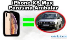 iPhone XS Max Parasına Alabileceğiniz Otomobiller