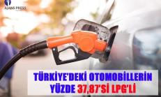 Türkiye'de LPG'li Araç Oranı Açıklandı