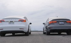Hangisi Geçer? Audi RS3 Sedan – Tesla Model 3
