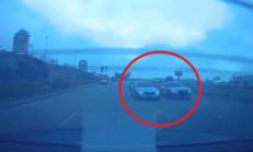 Audi S8 ve BMW M4'ün Sokak Yarışı Acı Şekilde Sonlandı