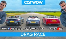 Hangisi Geçer? BMW Z4 M40i – Porsche Boxster GTS – Audi TT-S