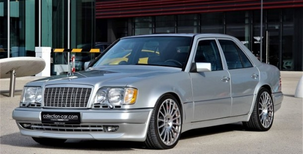 Sadece 2340 KM'de Olan W124 Mercedes E 60 AMG