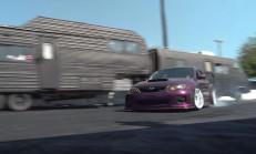 Bu Subaru WRX Arkadan İtişli ve Drift Kralı!
