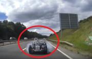 Morgan Sürücüsü Duran Trafiği Fark Edemedi ve Kaza Yaptı