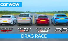 Hangisi Geçer? Skoda Kodiaq vRS – Audi Q3 – Focus ST Line – Kia ProCeed GT