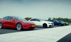 Bu Yarış Kaçmaz: Tesla Model 3 – C63 S, M3 – Giulia QV
