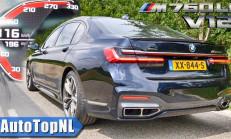 2020 BMW M760Li V12 0-316 km/s Hızlanması