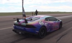 3000 Beygirlik Lamborghini Huracan 400'ü Devirdi