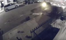 Aşırı Hızlı Audi Q7 Londra Sokaklarını Birbirine Kattı