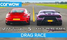 Hangisi Geçer? Lamborghini Huracan Performante – Porsche 911 Turbo S