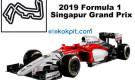 2019 Formula 1 Singapur Grand Prix Hangi Gün Saat Kaçta?
