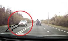 Chevrolet Cruze Sürücüsünün Hatalı Sollaması Faciayla Sonuçlandı