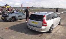 550 Beygirlik Volvo V50 T5 – McLaren 600LT