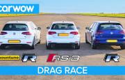 Hangisi Geçer? Audi RS3 – Modifiyeli VW Golf R