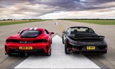 Hangisi Geçer? Ferrari 488 Pista – 800 Beygirlik Porsche 911 Turbo S
