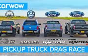 En Hızlı Pikap Hangisi? Ford F150 Raptor – Ranger Raptor – Mercedes X – VW Amarok