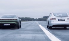 Hangisi Geçer? Tesla Model S P100D – Porsche Taycan Turbo S