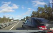 Otoyol da 167 km/s Hızla Kaza Yaptı!
