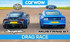 Hangisi Geçer? Toyota Supra – Ford Mustang V8