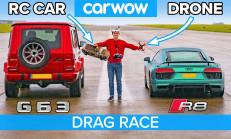 Hangisi Geçer? Audi R8 – RC Araç – Drone – Mercedes-AMG G63